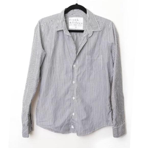 453892ea8 frank & eileen Tops   Frank Eileen Barry Poplin Shirt Striped   Poshmark